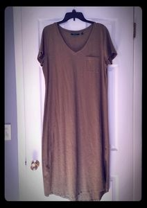 C.Wonder Olive Green Maxi Dress L